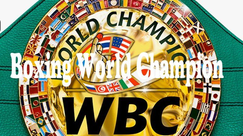 boxing world champion